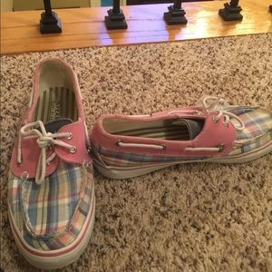 Sperry Top-Sider, Plaid Boat Shoes